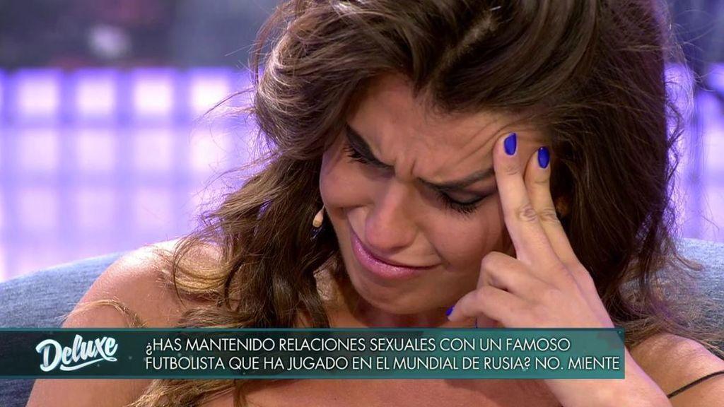 El 'poli' determina que Sofía ha mantenido relaciones con un futbolista y ella se derrumba