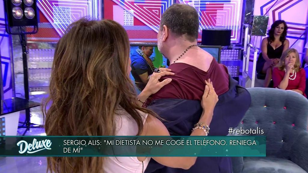 """Sergio Alis nos cuenta cómo ha engordado: """"Yo no tenía chepa, la grasa se ha movido ahí"""""""