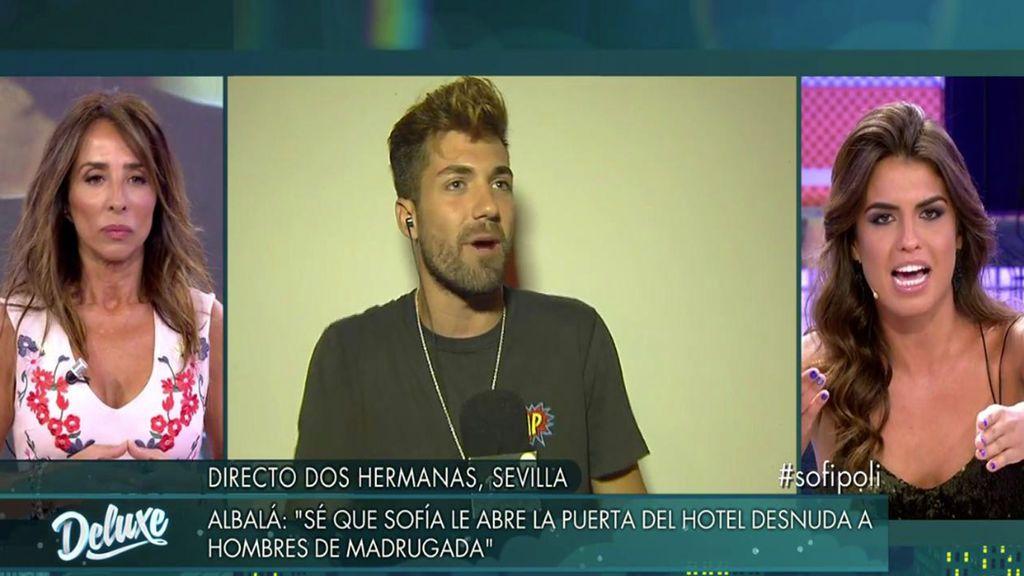 "Alejandro Albalá se harta: ""Sofía, se acabó, voy a desenmascararte"""