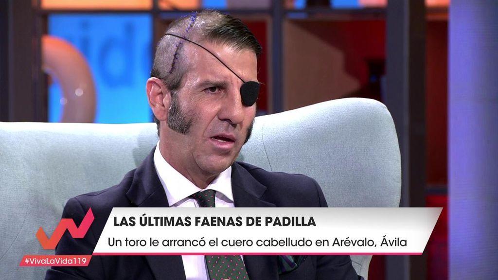"""Juan José Padilla recuerda su última cornada: """"Vi que llevaba el cuero cabelludo en la mano"""""""