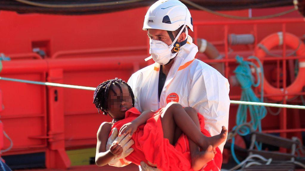 Rescatadas más de 1.200 personas ante las costas andaluzas en el fin de semana