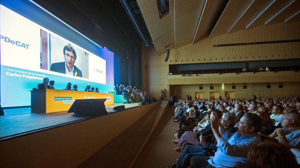 Puigdemont celebra que el PDeCAT se sume a la Crida Nacional