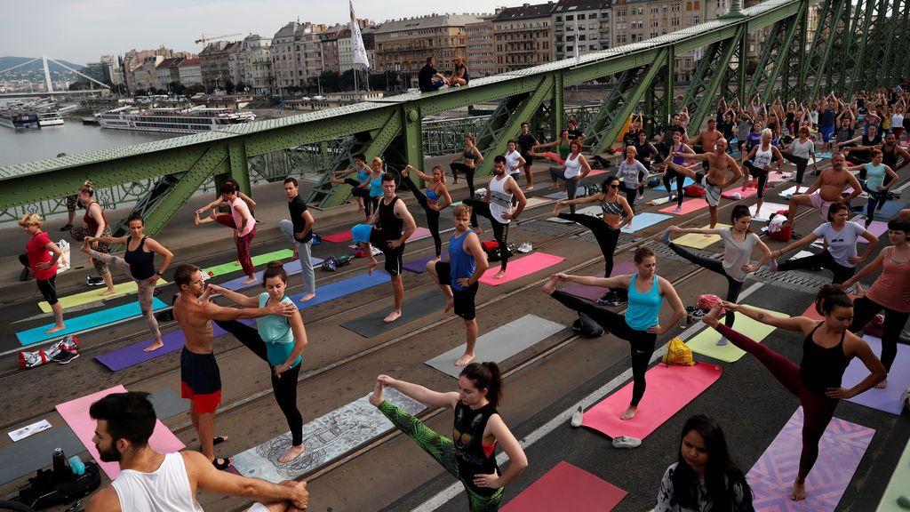Master class de yoga en Budapest