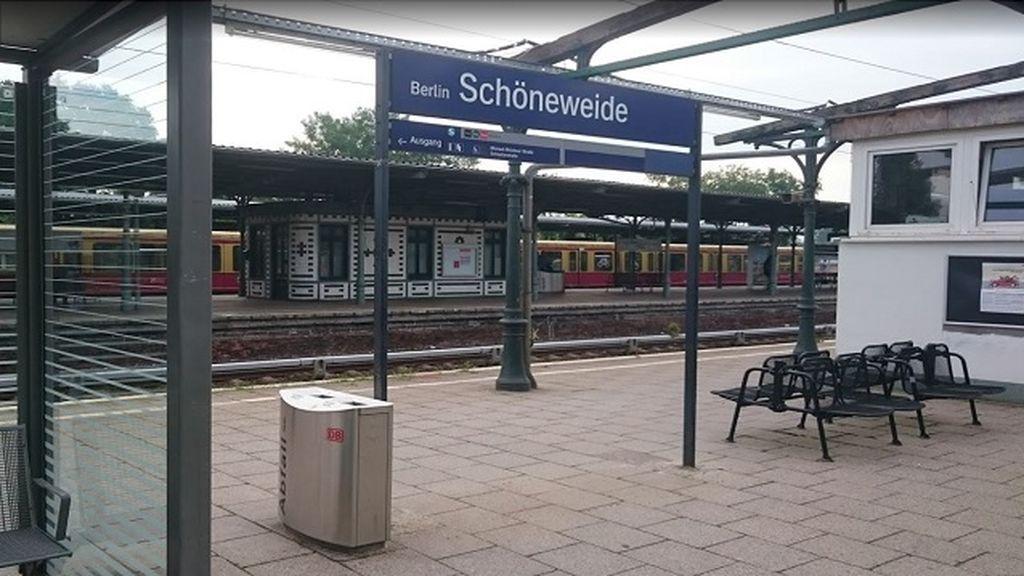 Estación de Schoeneweide en Berlín.