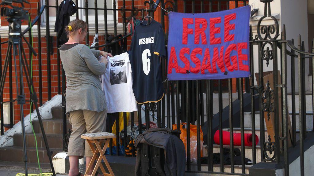 ¿Fin al asilo de Assange?