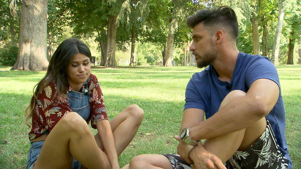 """Marina se sincera con Aitor en su cita: """"Creo que el primer beso se lo merecía Alonso, no tú"""""""