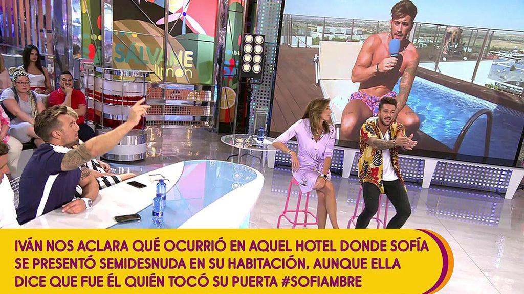 "Hugo Paz e Iván González, enfrentados por Sofía Suescun: ""Vosotros tonteando, ella desnuda ¿y yo qué hago? ¿confío en ti o no?"