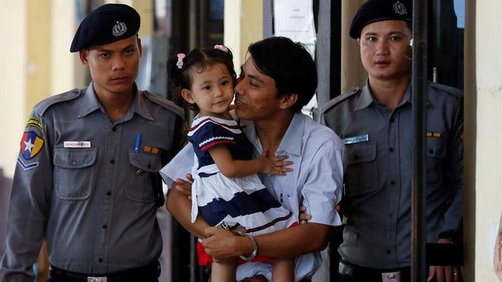 Continúa el juicio contra los dos periodistas birmanos