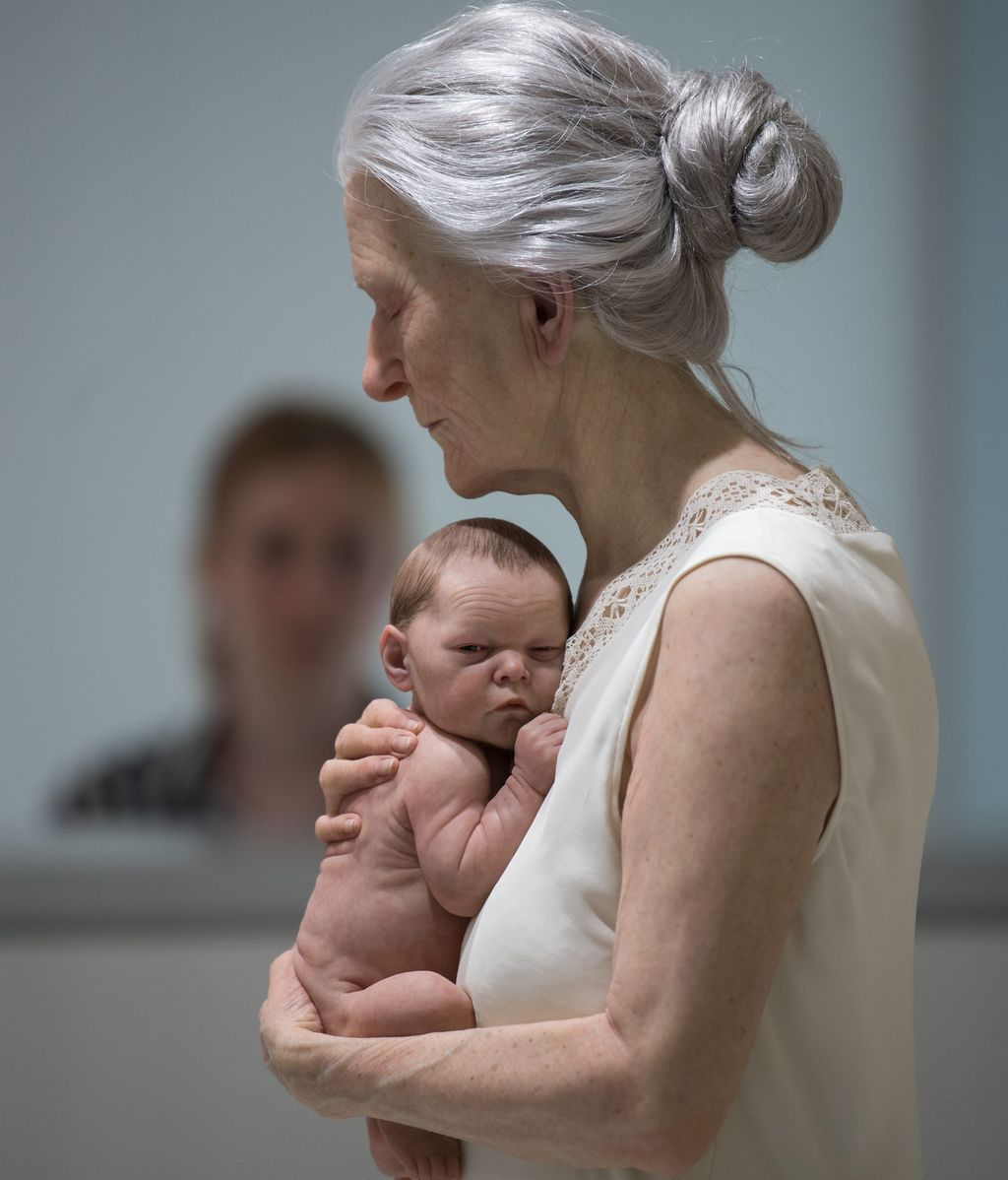 Amor de abuela hiperrealista