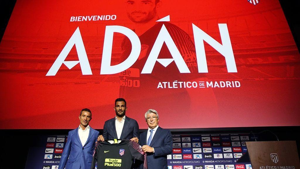 Adán ficha por el Atlético de Madrid hasta junio de 2020