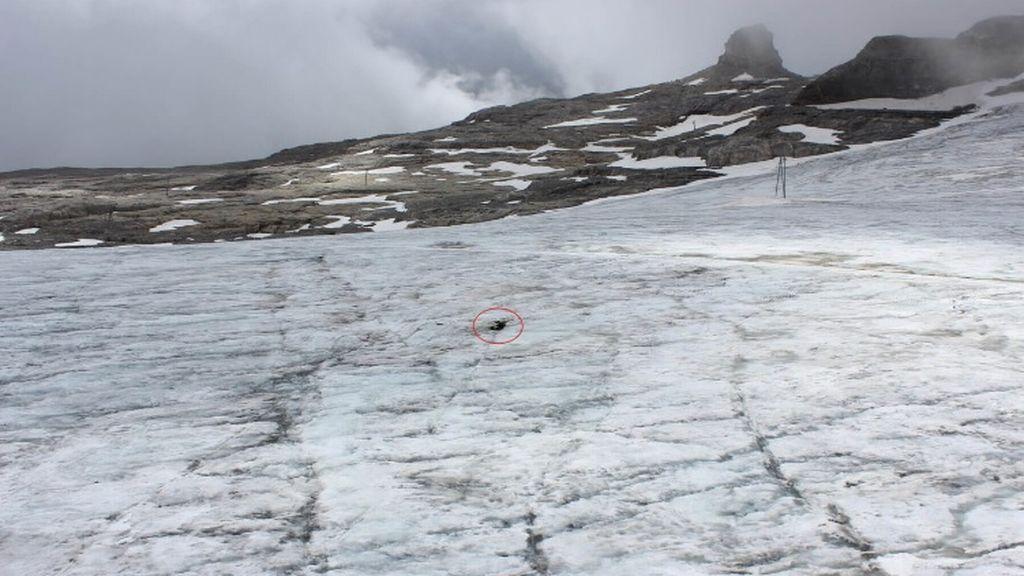 muertos glaciar