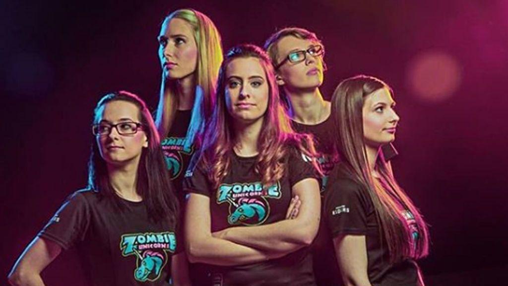 Zombie Unicorns, el equipo de esports que quiere llevar a las mujeres a la élite de los deportes electrónicos
