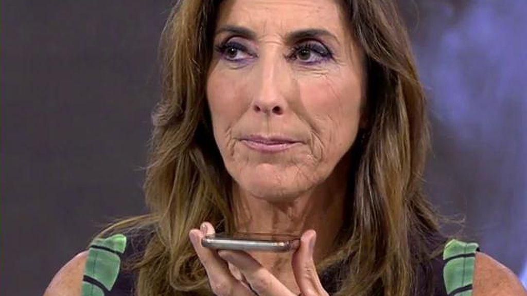 El testimonio de la madre de Paz Padilla sobre la guerra emociona a la presentadora