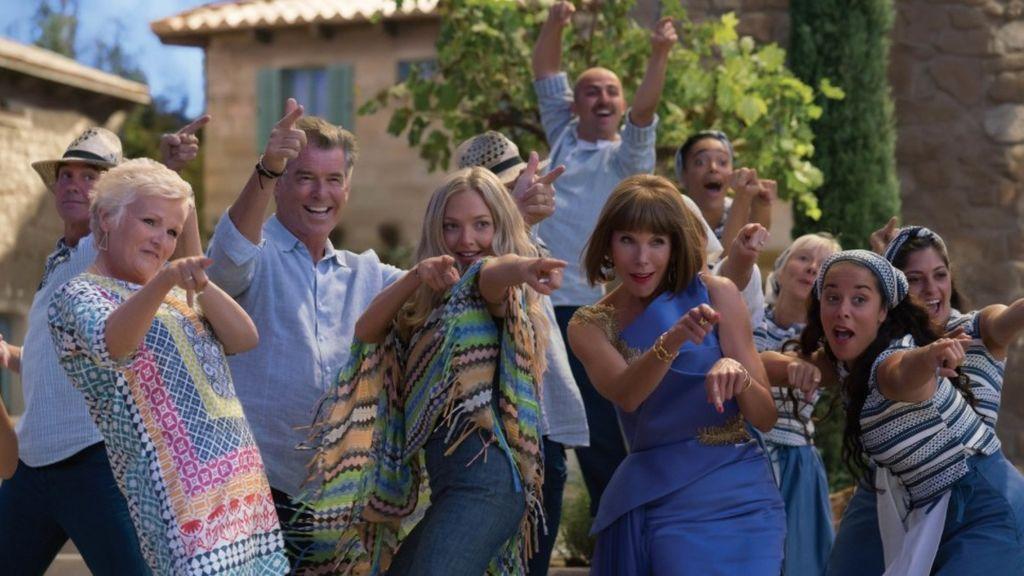 'Mamma Mia! Una y otra vez' número 1 en su fin de semana de estreno