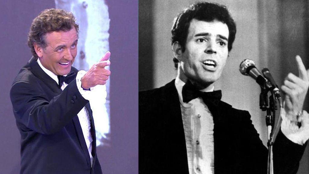 El cambio más radical de Antonio Montero imitando a Julio Iglesias: de periodista a cantante estrella