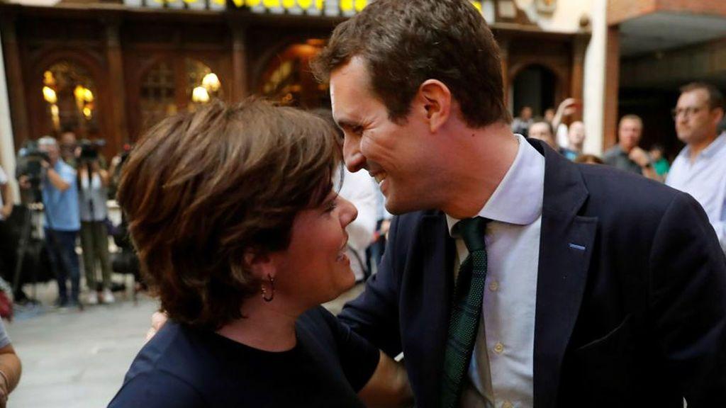 Casado se reunirá este miércoles con Sáenz de  Santamaría tras su encuentro con Aznar