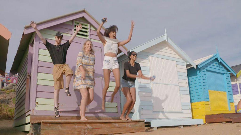 Todo el mundo quiere hacerse una foto en las casetas de colores de Brighton Beach