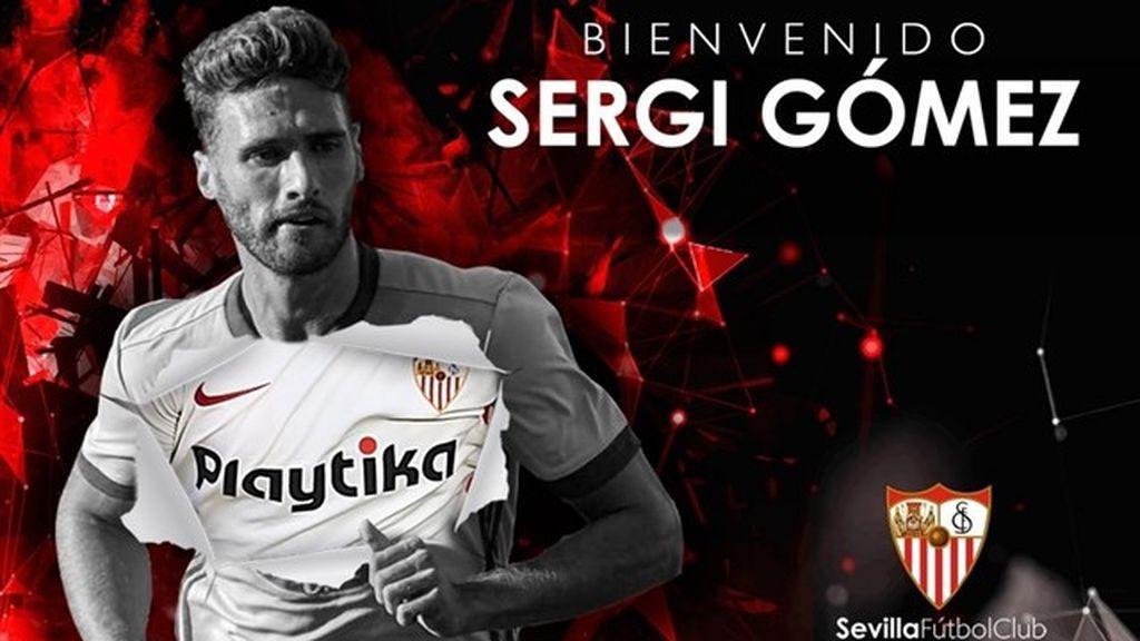 El Sevilla ficha a Sergi Gómez hasta 2022
