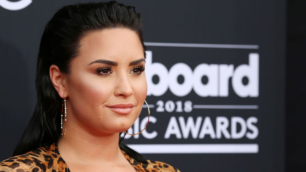 Demi Lovato en los Billboard Music Awards, en mayo de 2018.