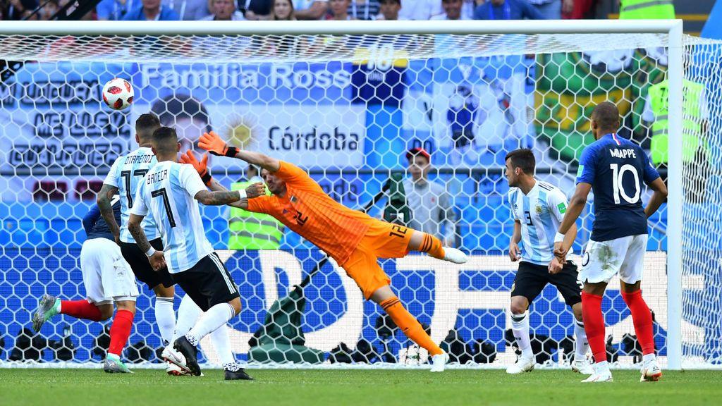 El gol de Pavard a Argentina, elegido el mejor del Mundial de Rusia