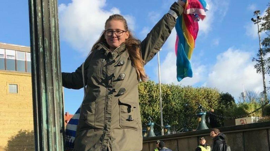 Una estudiante sueca consigue paralizar la deportación de un afgano