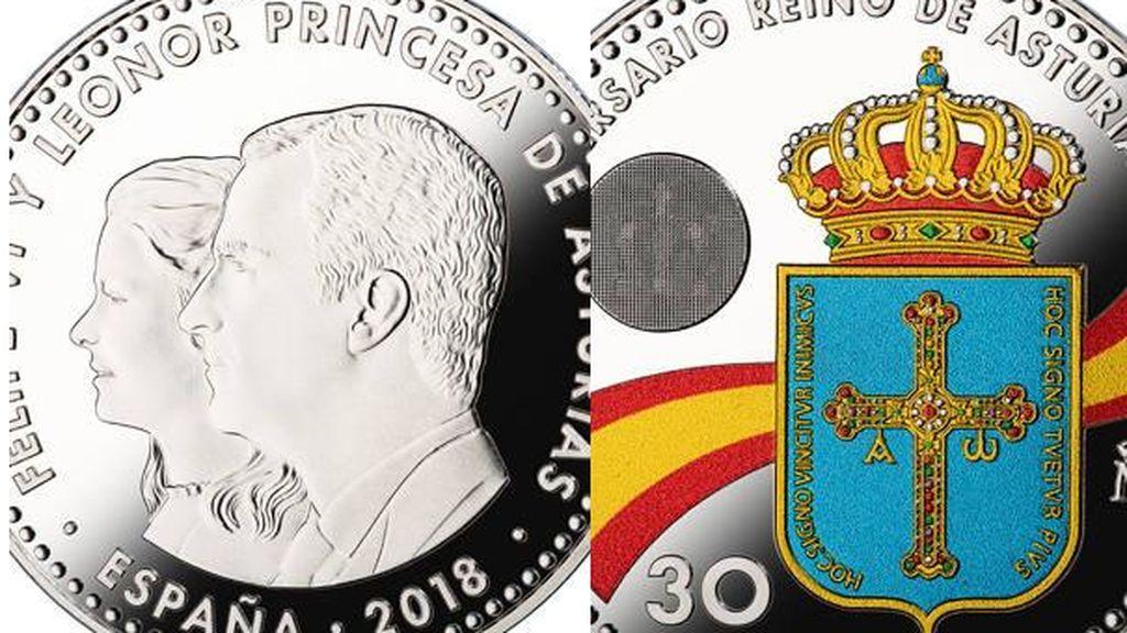 Moneda Princesa Leonor