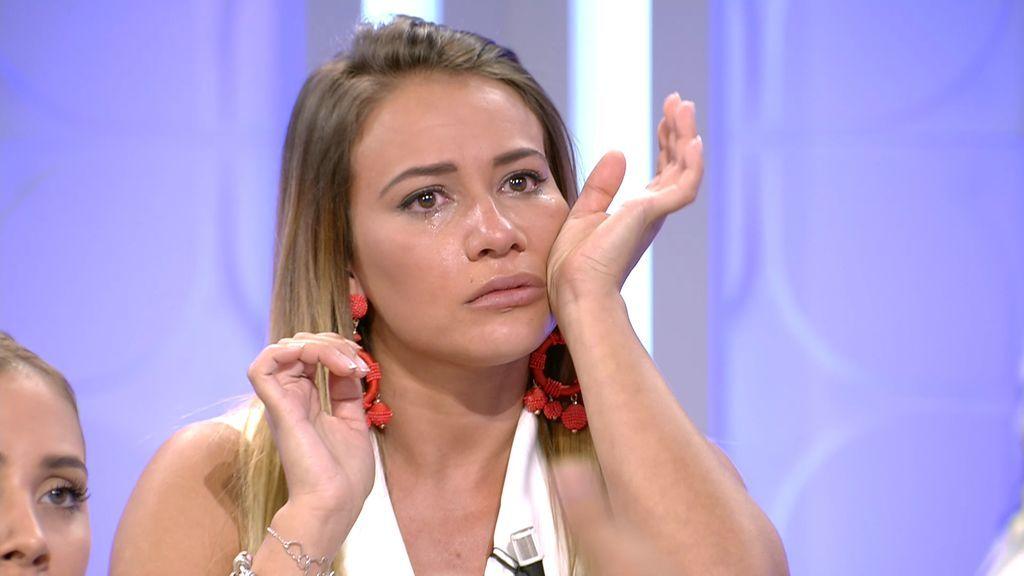 """Silvia sale llorando de plató tras la llegada de Brenda: """"Estoy cansada ya"""""""