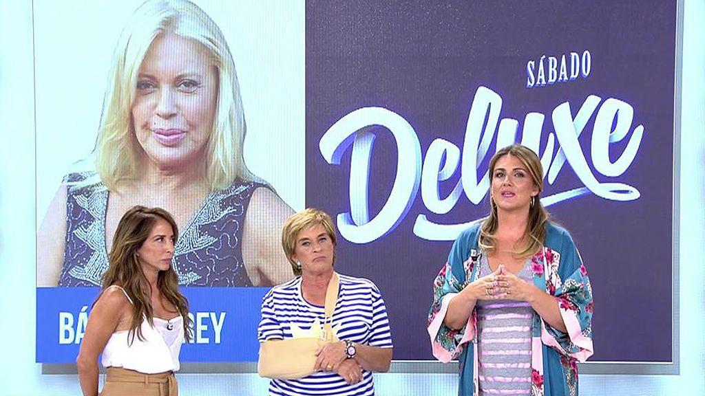 ¡Bárbara Rey se sienta en 'Sábado Deluxe' tras cuatro años sin aparecer en televisión!