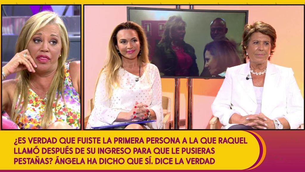 """Belén, a Ángela Beck: """"Mientes más que hablas, no te creo nada"""""""