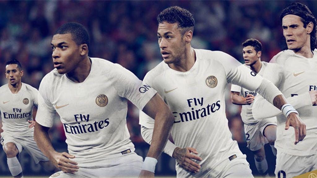 Mbappé y Neymar sí van a vestir de blanco: así es la camiseta que el PSG lucirá en los partidos a domicilio