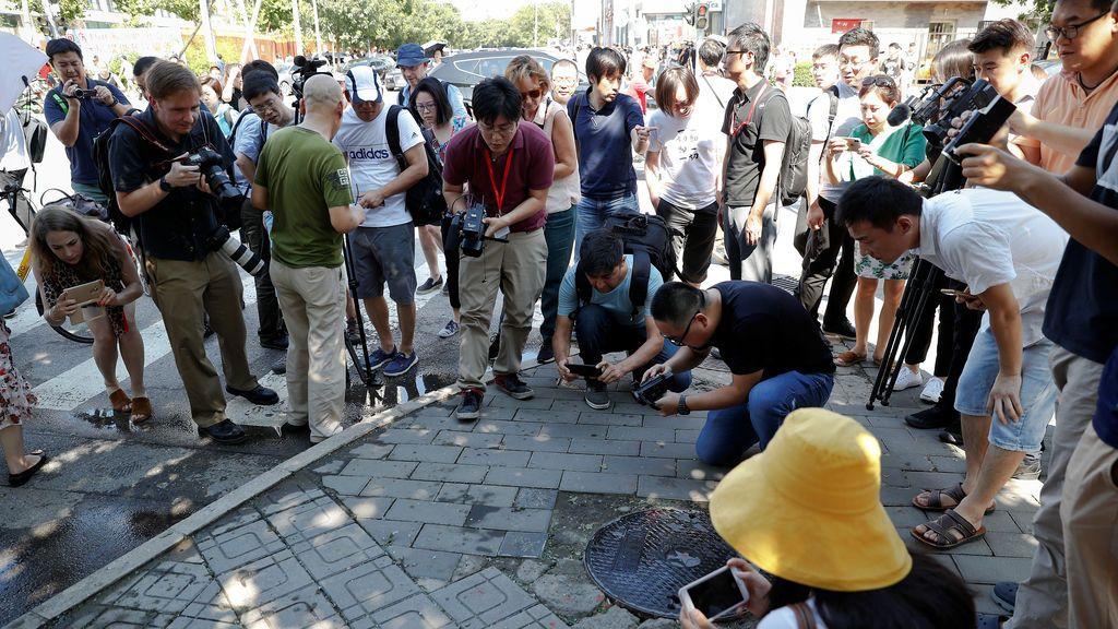 Pequeña explosión en la Embajada estadounidense en China