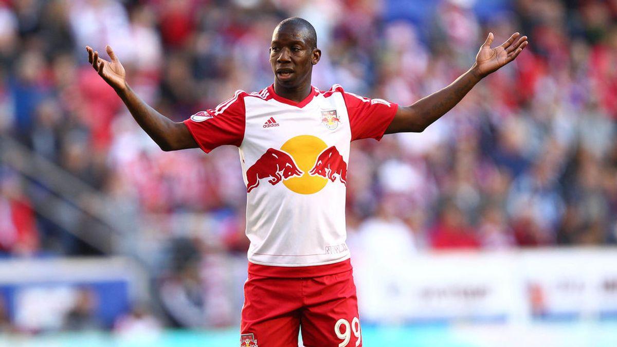 Épico: Bradley Wright-Phillips y su celebración al conseguir su centésimo gol en la MLS