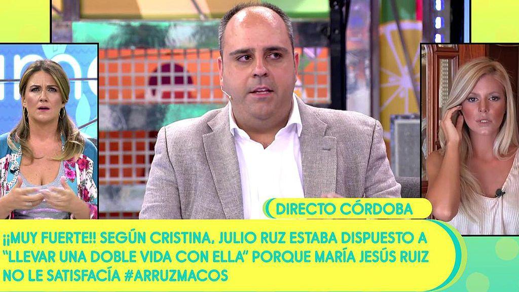 El prometido de Mª Jesús Ruiz vuelve a las andadas... Una chica le acusa de una nueva deslealtad