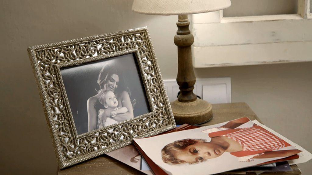 Fotos tan espectaculares como familiares y toques sevillanos: la casa de Raquel Bollo