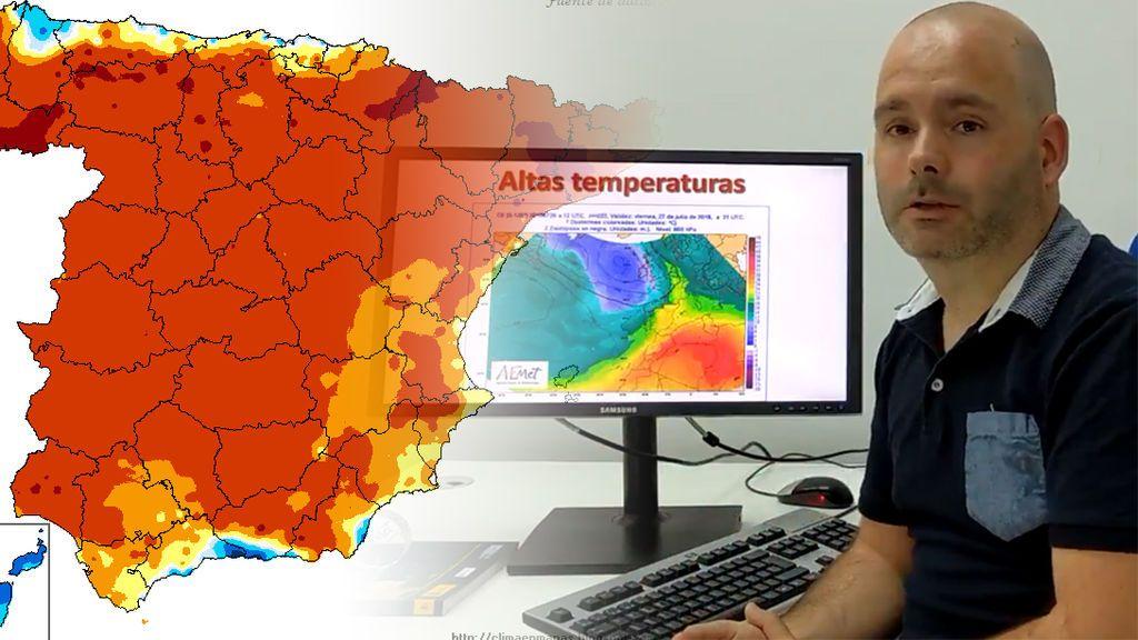Aemet alerta: posible ola de calor en España a partir del martes que viene