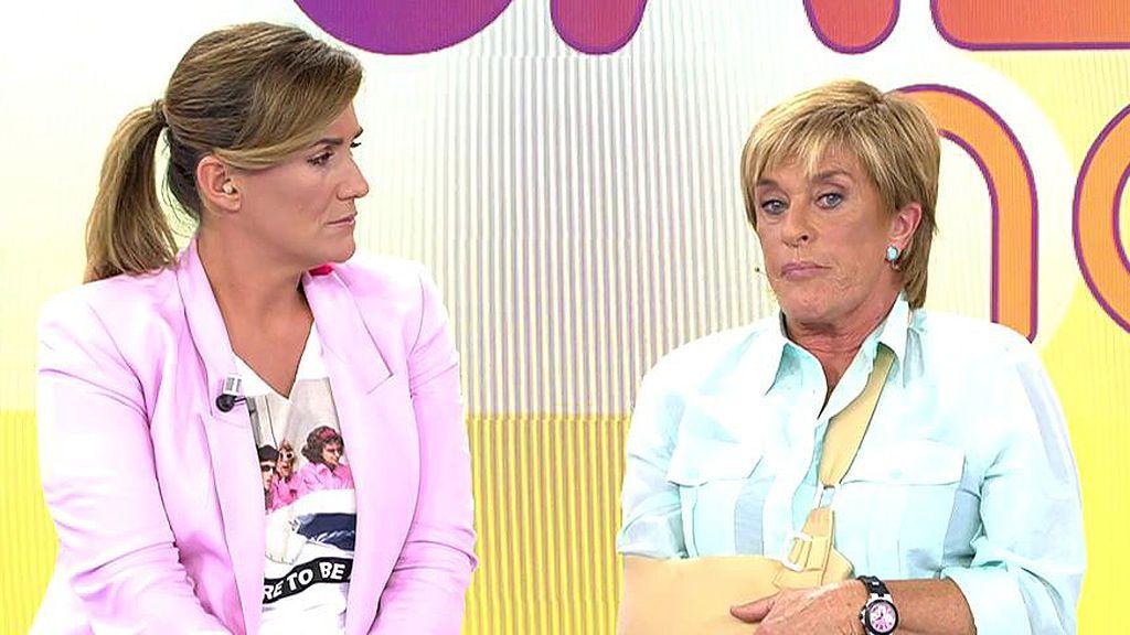 """Chelo Gª Cortés podría haber sido espiada: """"Tenía coches con antenitas en mi casa por ser amiga de Bárbara Rey"""""""