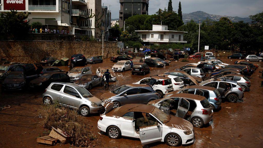 inundaciones grecia