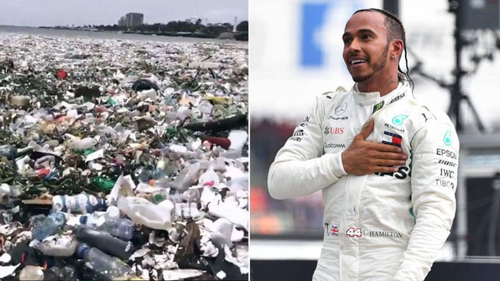 Espectaculares e indignantes las imágenes con las que Hamilton intenta concienciarnos