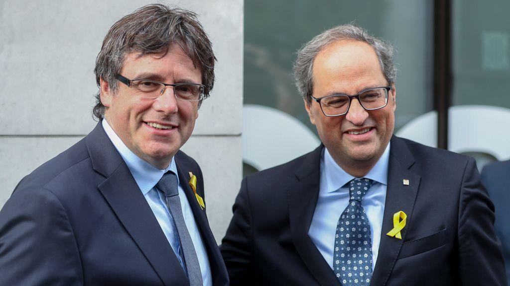 """Puigdemont asegura que seguirá viajando por Europa para defender la """"causa justa"""" de Cataluña"""