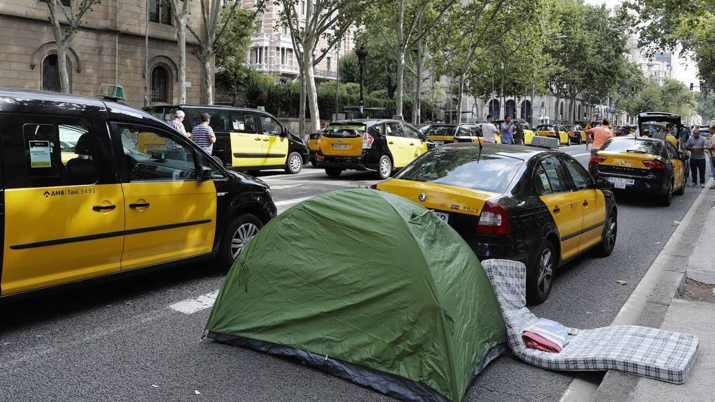 "Los taxistas de Barcelona responden a Fomento: ""Esto no va a parar, va a ir en aumento"""
