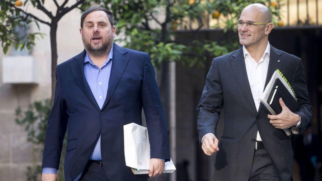 Junqueras y Romeva piden al Supremo sustituir la cárcel por arresto domiciliario