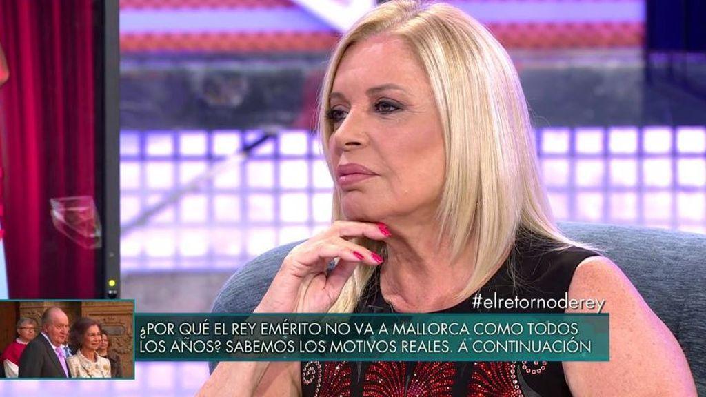 """Bárbara Rey se confiesa ante Belén: """"El amor de mi vida no fue mi marido, quise mucho a Joaquín Garrido"""""""