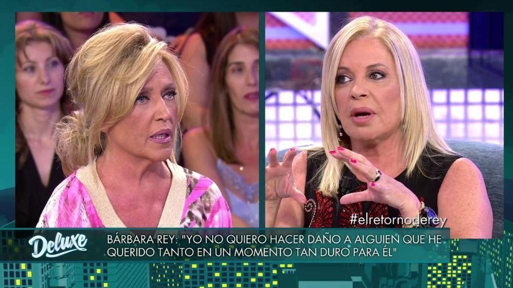 """Bárbara Rey, sobre el histórico veto en televisión: """"Me pusieron dos guardias para que no entrara a plató"""""""