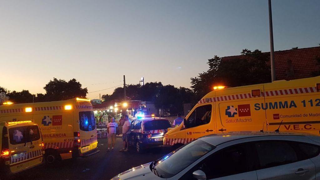 Heridos tres menores y un adulto en un atropello en Colmenarejo (Madrid)