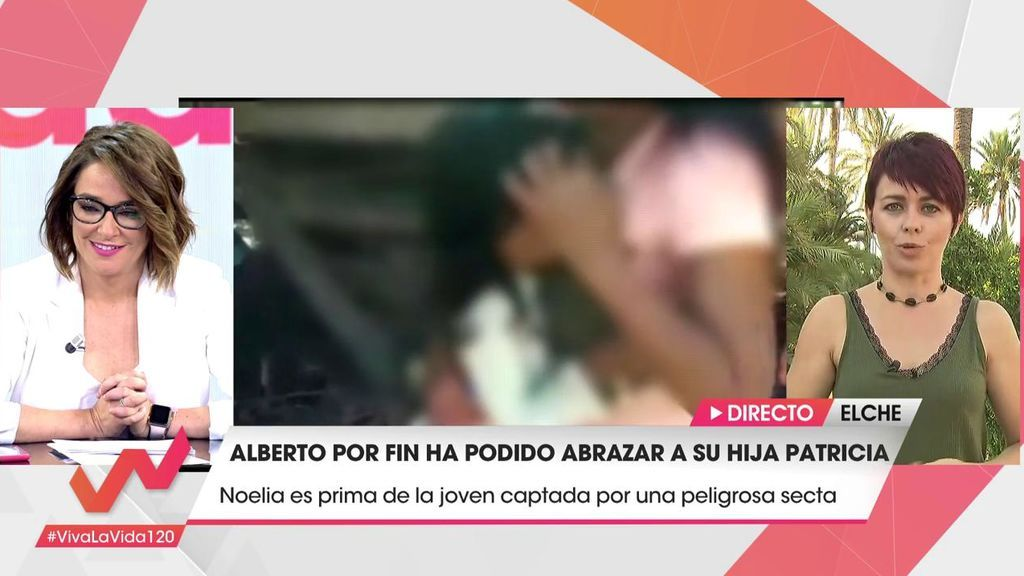 """Patricia, la joven secuestrada en Perú, le confirma a su tía  que  quiere volver a casa : """"Nos vemos muy pronto"""""""