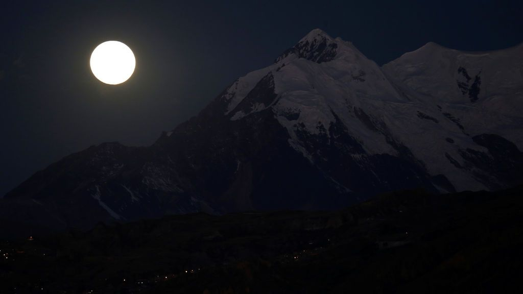Paisaje idóneo para contemplar la 'luna de sangre'