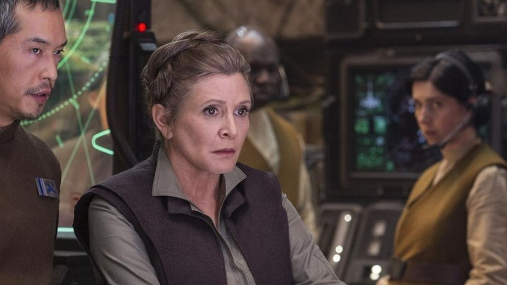 Carrie Fisher Leia Organa en Star Wars