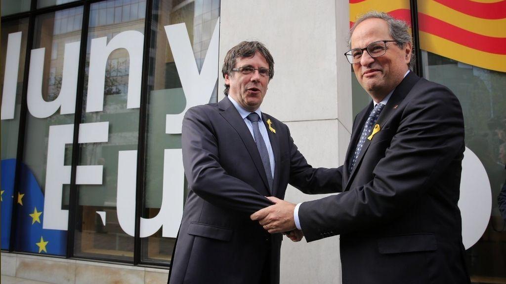 EuropaPress_1684452_Puigdemont_llega_a_Bruselas_y_se_encuentra_con_Torra_Comín_y_Serret