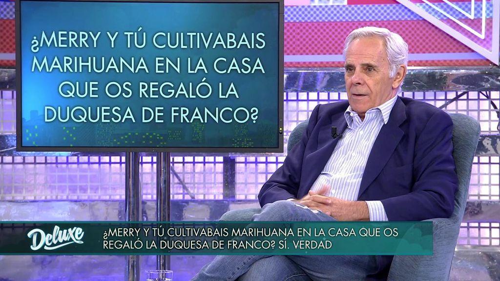 """Jimmy Giménez-Arnau: """"Merry Martínez-Bordiú y yo cultivábamos marihuana"""""""
