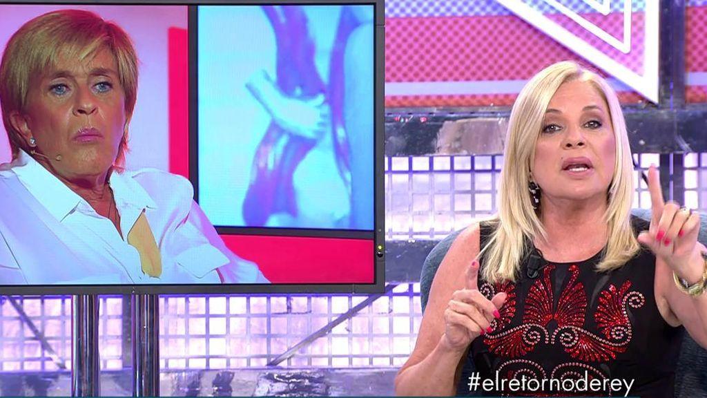 """Bárbara Rey veta a Chelo en su entrevista por una traición y se enfrentan: """"Me ha hecho mucho daño"""""""